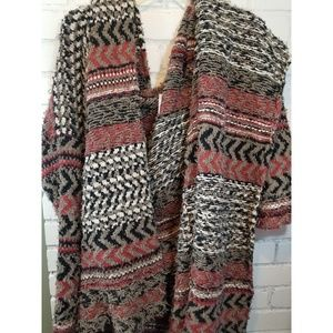 Free people open knitted sweater